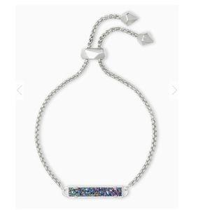 Kendra Scott multi drusy silver Stan bracelet